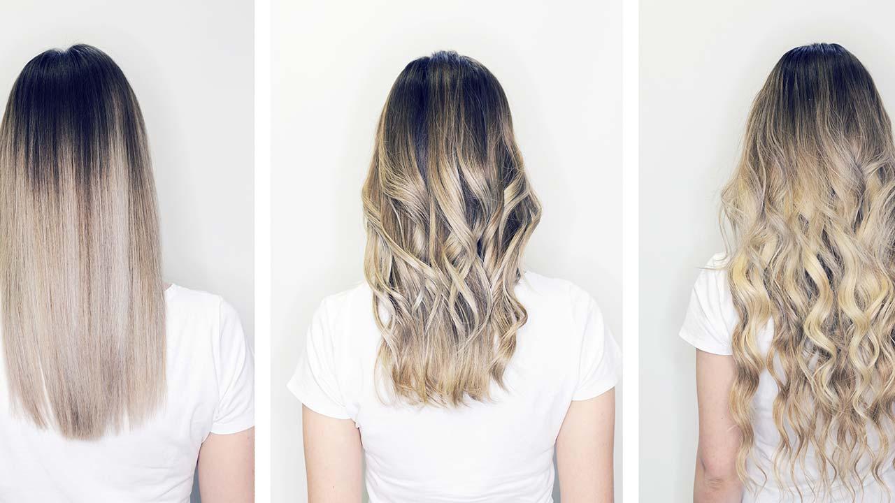 ۳ نوع مختلف مو