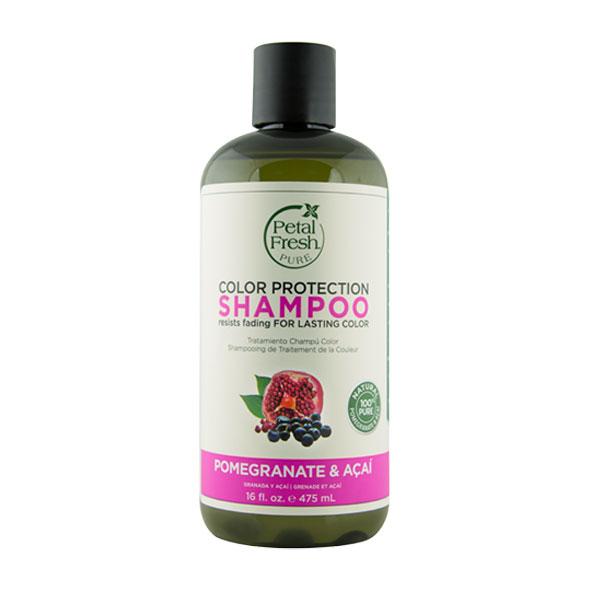شامپو انار و آسای پتال فرش مناسب موهای رنگ شده (حجم 475 میلی لیتر)