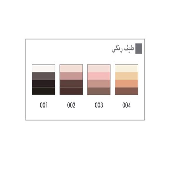 پالت سایه چشم چهار رنگ پوپا ( دارای رنگبندی )