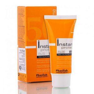 کرم ضد آفتاب رنگی +SPF50 اینستنت instant (مناسب برای انواع پوست)