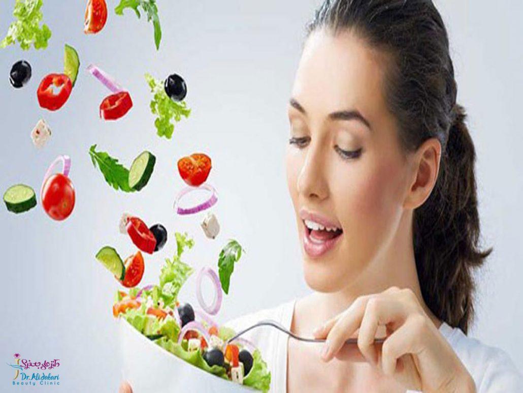 تغذیه مناسب برای انواع پوست و تاثیر تغذیه بر روند پیری پوست