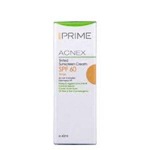 کرم ضد آفتاب رنگی SPF60 مناسب پوست چرب پریم (حجم 40 میل)